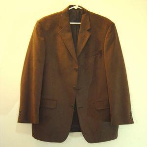 Andrew Fezza 'Fusion' Brown Suede Blazer *Like New